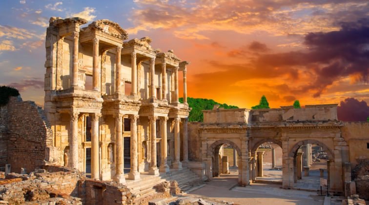 Ruins at Ephesus, Turkey