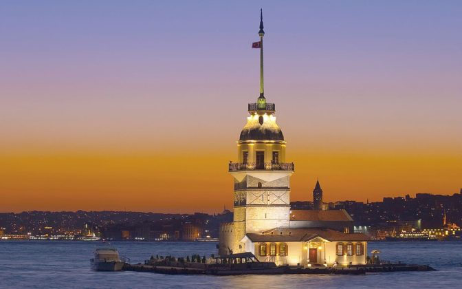 A place of legends - Maiden's Tower