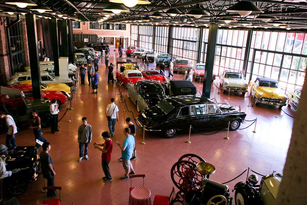 Great industrial museum - Rahmi Koç Museum