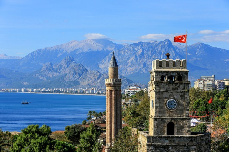 Antalya (Attalia) — the fastest growing city, hub to an array of beach resorts