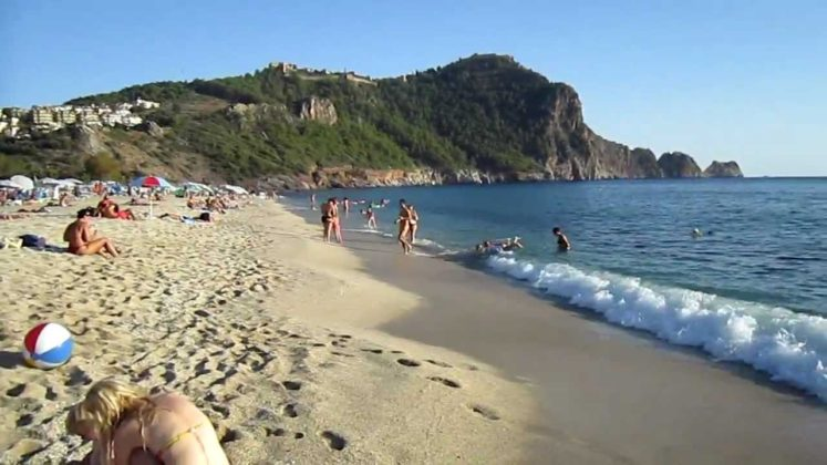 Alanya: Kleopatra (Cleopatra) Beach, Perfect Sand, Summer