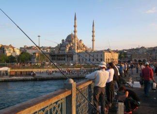 Bosphorus Fishing Istanbul