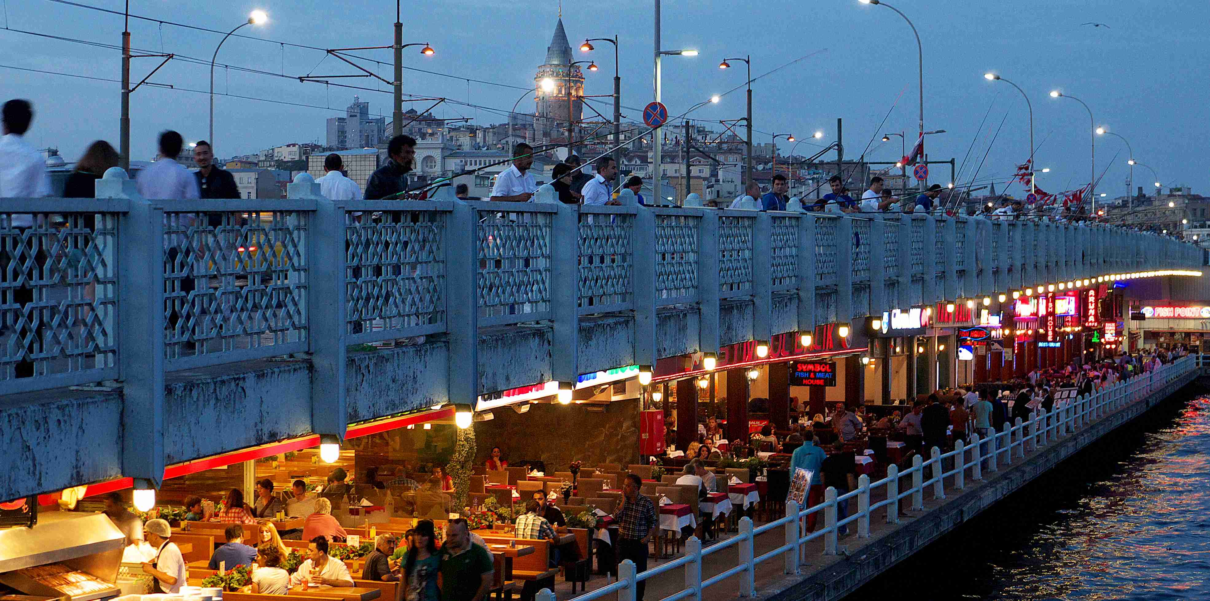 Fishermen's favourite - Galata Bridge