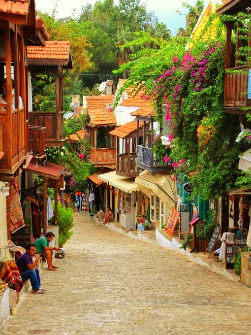 Bright colors of #Kas #Turkey · Kalkan TurkeyVisit