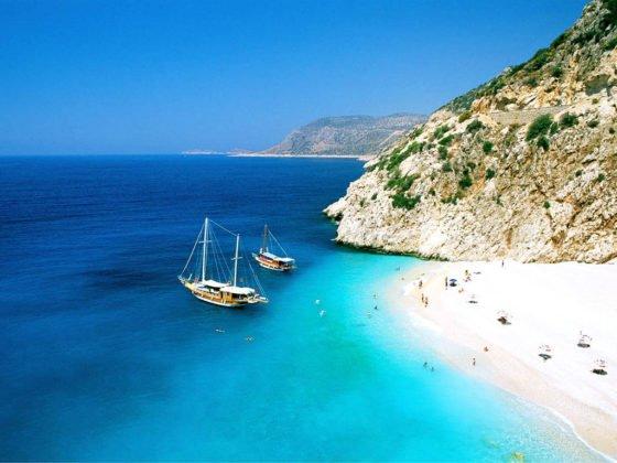 Kaputas Beach, Kas, Antalya