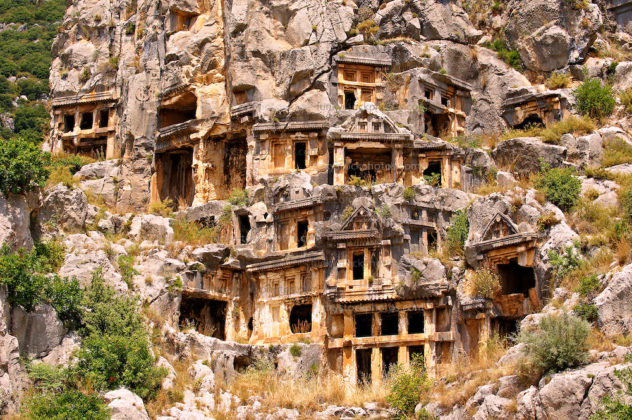 Myra Necropolis – Demre, Turkey